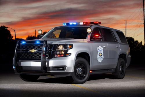 2015 Шевроле Тахо Полиции Концепция Дает Больше Мощности