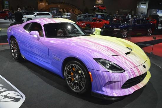 Chicago Auto Show Dodge Viper GTC