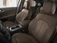 2015 Chrysler 200C Mocha Leather interior, 2 of 4