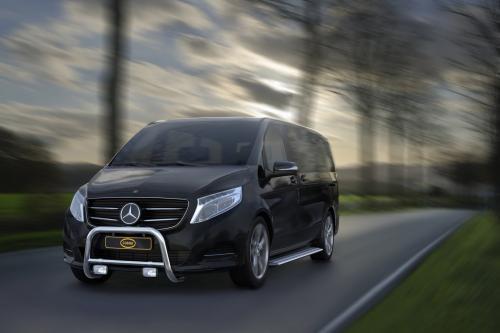 Cobra Technology украшают новый Mercedes V-класса и Vito фургоны