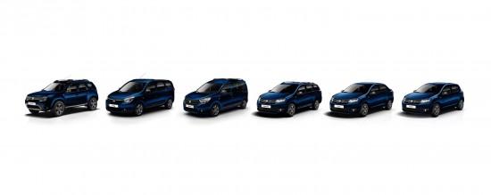 Dacia Anniversary Limited-Edition Range