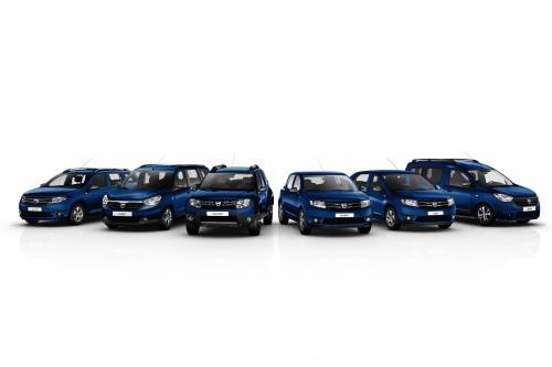 Dacia выпускает ограниченные издания автомобилей каждой модели к своим годовщинам