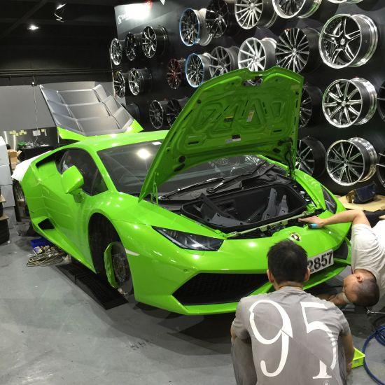 DMC Lamborghini Huracan LP610 Limited Edition Behind the Scenes