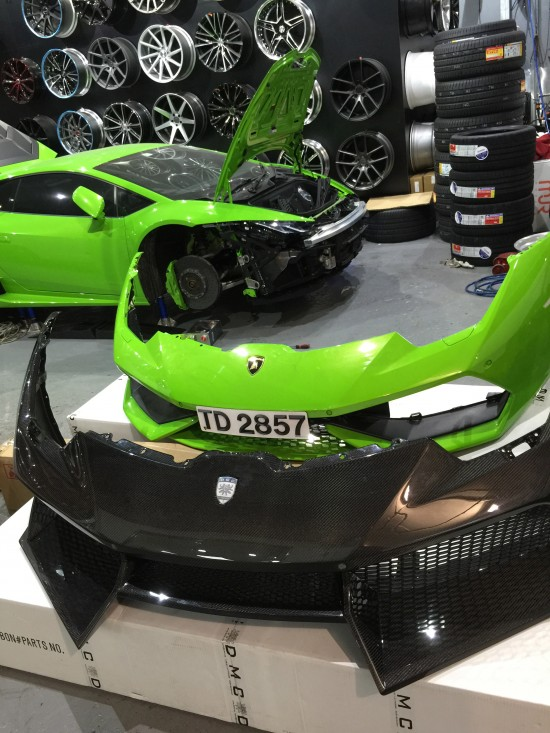 DMC Lamborghini Huracan LP610 Limited Edition Behind the Scenes