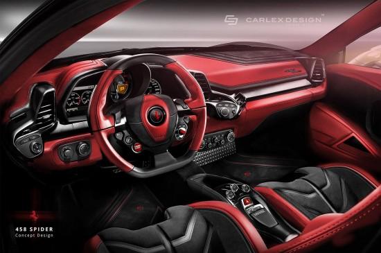 Ferrari 458 Spider Concept by Carlex Design