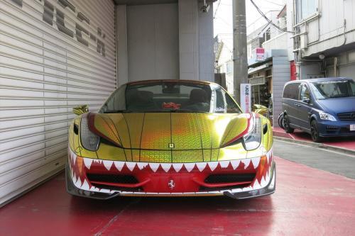 Феррари 458 Спайдер