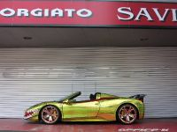 2015 Ferrari 458 Spider Golden Shark, 2 of 17