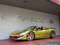 2015 Ferrari 458 Spider Golden Shark, 3 of 17