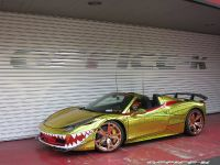 2015 Ferrari 458 Spider Golden Shark, 4 of 17
