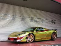2015 Ferrari 458 Spider Golden Shark, 5 of 17