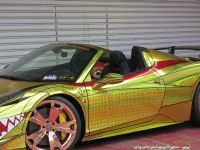 2015 Ferrari 458 Spider Golden Shark, 7 of 17