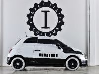 2015 Fiat 500e stormtrooper, 2 of 4