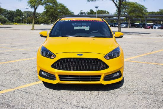Ford Focus ST with Ford Performance Mountune Kit