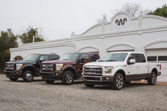 Ford King Ranch Lineup