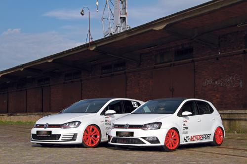 2015 hg motorsport Volkswagen Golf-7 GTI and Polo 6C GTI