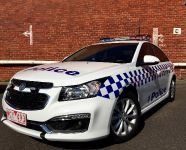 2015 Holden Cruze Victorian Police Vehicle, 1 of 3