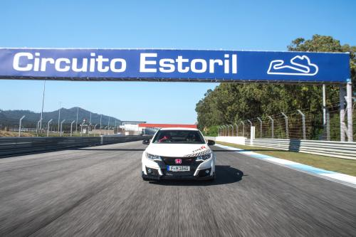 Honda Civic Type-R AT famous race tracks