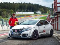 2015 Honda Civic Type R at famous race tracks , 9 of 19