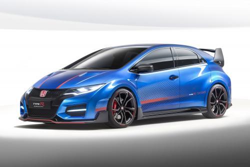 2015 Хонда Сивик Тип R концепция превью следующего поколения Люк