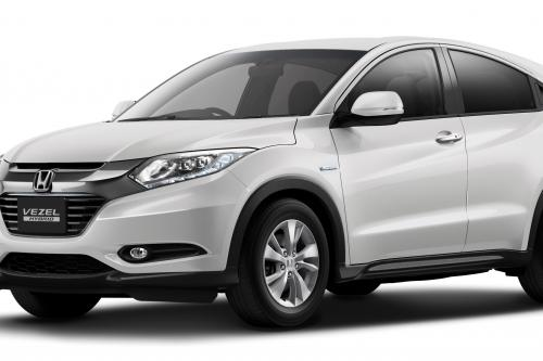 2015 honda hr v suv first official images. Black Bedroom Furniture Sets. Home Design Ideas
