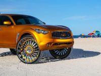 2015 Infiniti FX with 32-inch wheels, 1 of 8