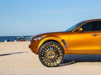 2015 Infiniti FX with 32-inch wheels, 2 of 8