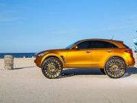 2015 Infiniti FX with 32-inch wheels, 3 of 8