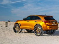 2015 Infiniti FX with 32-inch wheels, 4 of 8