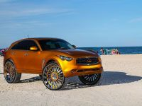 2015 Infiniti FX with 32-inch wheels, 8 of 8