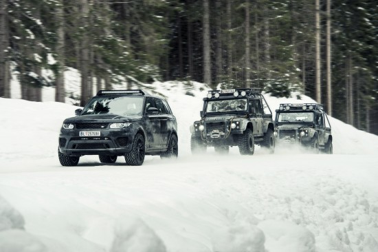 Jaguar Land Rover James Bond Spectre Cars