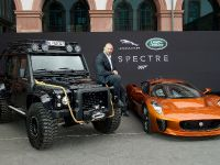 2015 Jaguar Land Rover James Bond Spectre Cars, 16 of 36