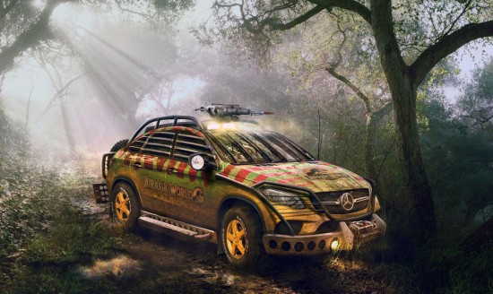 Jurassic Park Mercedes-Benz GLE 450 AMG Coupe