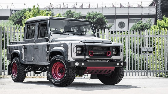 2015 kahn land rover defender 110 double cab pick up picture 123778. Black Bedroom Furniture Sets. Home Design Ideas