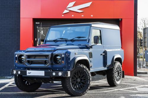 Kahn Land Rover Defender hard top CWT in tamar blue – жесткий верх в голубом