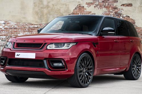 Kahn демонстрирует потрясающий Красный Firenze Range Rover Sport 400LE