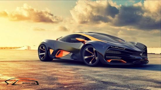 Lada Raven Supercar Concept