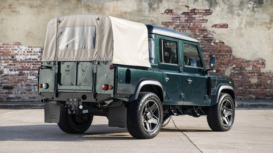 Land Rover Defender 110 Double Cab Pick Up CWT