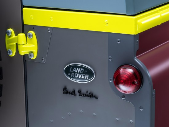 Land Rover Defender Paul Smith Special Edition