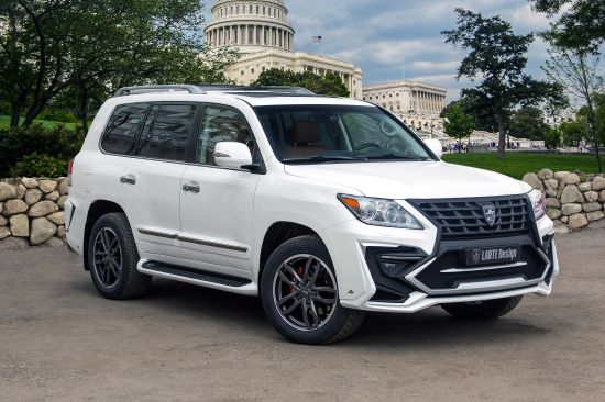 Larte Lexus LX570 White Alligator