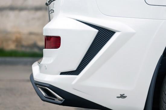 Larte Lexus LX570 White Alligator