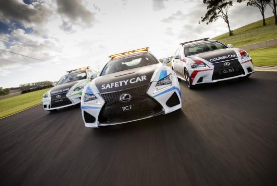 Lexus V8 Supercars