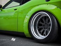 2015 Liberty Walk Dodge Challenger Hellcat Green , 4 of 5