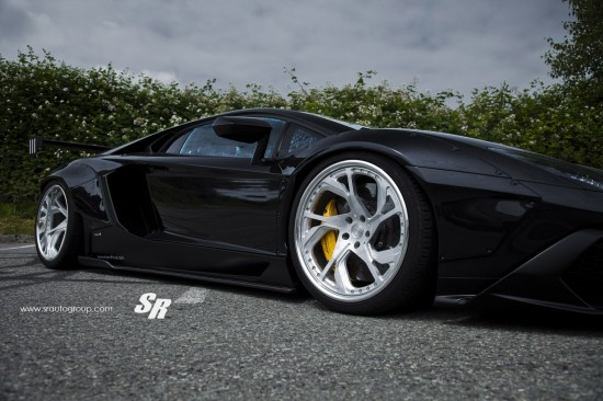 Liberty Walk Lamborghini Aventador by SR Auto