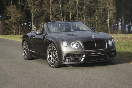 Mansory Bentley Edition 50