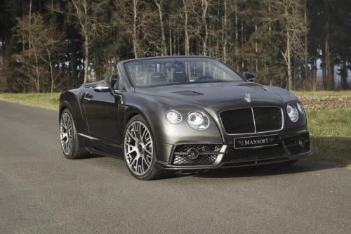 Мансори создает 50 эксклюзивных Бентли Континенталь GT