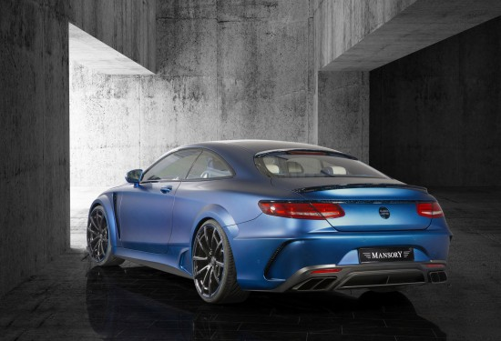 Mansory Mercedes-Benz S63 AMG Coupe Diamond Edition
