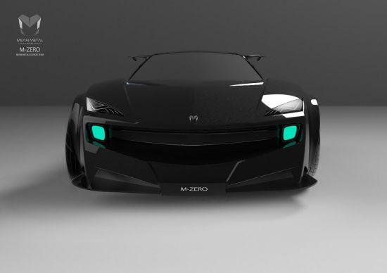Mean Metals M-Zero Supercar