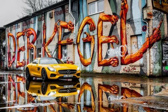 Mercedes-Benz AMG GT S in Berlin