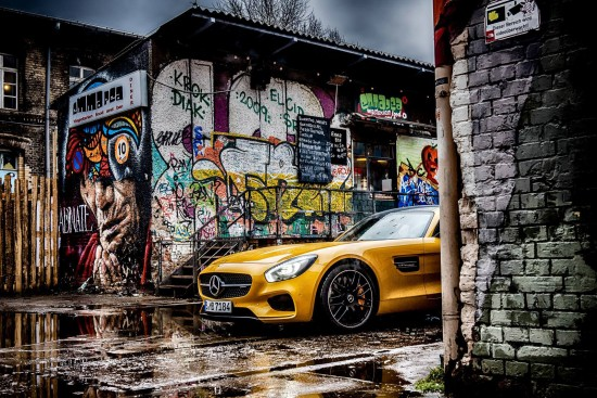 Mercedes-Benz AMG GT S in Berlin