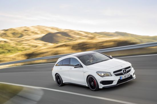 Mercedes-Benz CLA45 AMG Shooting Brake